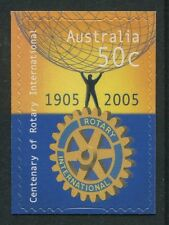 CENTENARY OF ROTARY INTERNATIONAL 2005 - MINT EX-BOOKLET SELF-ADHESIVE (R84-RR)