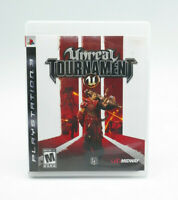 Unreal Tournament III 3 PS3 Game Complete Tested Free Shipping