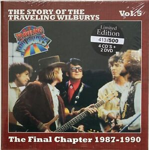 George Harrison Traveling Wilburys  The Final Chapter  Numbered Box  4CDs + 2DVD