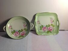 Tirschenreuth German Nut Dish and Matching Mint Tray
