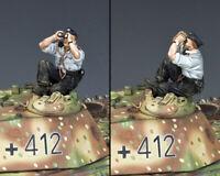 KING & COUNTRY WW2 GERMAN ARMY WS353 SKY WATCHING PANZER CREWMAN MIB