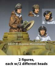 Alpine Miniatures 1/35 Panzer Crew Winter Set (2 figures)