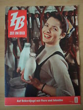ZEIT IM BILD 8/1960 * LPG nimmt Kurs a. Weltrekord Dänemark Afrika Wasser Karies
