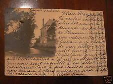 cpa photo 60 gannes etablissement 1903 RARE