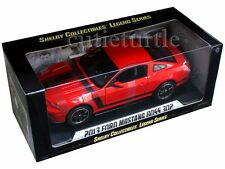 Shelby Collectibles 2013 Ford Mustang Boss 302 1:18 Diecast Red SC454