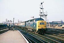 British Rail Deltic D9013 The Black Watch Peterborough 07/10/68 Rail Photo R1207