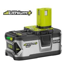 Ryobi power tools ebay ryobi p108 battery 40ah li ion 18v new in factory sealed package fandeluxe Image collections