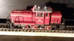 MARKLIN H0 3065 DIESEL SHUNTING ENGINE ANALOGUE 1960s IN ORIGINAL BOX