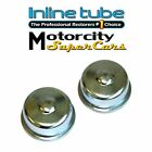 1964-79 Pontiac GTO FIREBIRD VENTURA Wheel Bearing Spindle Nut Dust Covers 2 PC  for sale