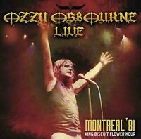 OZZY OSBOURNE-LIVE MONTREAL 1981 KING BISCUIT FLOWER HOUR F08 Alive the Live F/S