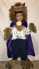 RARE THE DISNEY STORE BEAUTY AND THE BEAST COSTUME XS