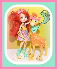 ❤️Enchantimals Gillian Giraffe Doll Accessories Pawl Pet Baby Animal Set❤️
