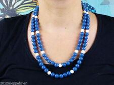 Gefärbte-Halsketten für besondere Anlässe mit echten Edelsteinen