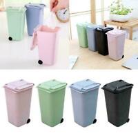 Kunststoff Mülleimer Recycling Mini Mülleimer Lagerung Form Bin Stift Deskt W5K6