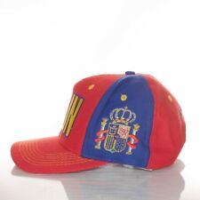 Vintage Adidas La Furia Roja Spain National Soccer Team Futbol Snapback Hat Cap