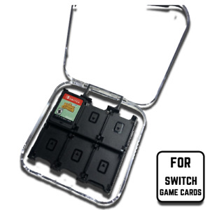 Nintendo Switch 12-Game Card Case Holder Storage Travel Carry Protector Cover