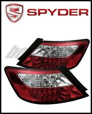 Spyder Honda Civic 06-08 2Dr LED Tail Lights Red Clear