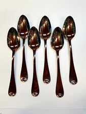 6 x ONEIDA /18/10 HIGH QUALITY STAINLESS STEEL DINNER SPOONS FLATWARE