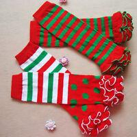Cute Baby Kids Toddler Boy Girl Long Socks Legs Leg Warmer Autumn Winter Socks