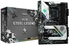 ASRock AM4/X570 Steel Legend/4DDR4/HDMI/DP/R45 Motherboard
