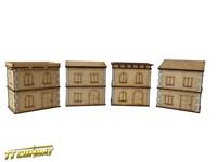 TTCombat - Streets of Venice - Simple Venetian Buildings SOV046