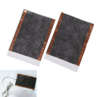 2x Mantas Calefacción suave USB manta de calefacción cálida de invierno