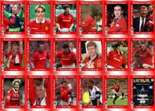 Manchester United 1996 FA Cup winners football trading cards