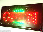 """OPEN "" SIGN for shop ,Business,LED Light signs(new)"