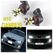 2×H10 19 SMD LED CANBUS Xenon White Fog Light VAUXHALL CORSA E Corsavan
