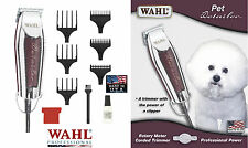 Wahl Pet Grooming Detailer Corded TRIMMER/CLIPPER KIT w/Blade,Guide Comb SET*NEW