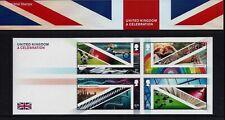 GB 2021 MINT & FDC UK A CELEBRATION PACK M26 MINIATURE SHEET BARCODED FDC