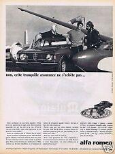 Publicité Advertising 026 1966 Alfa-Roméo Giulia GTA coupé