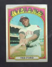 1972 TOPPS TED FORD #24 CLEVELAND INDIANS