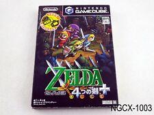 Zelda 4 Swords Japanese Import Nintendo Gamecube Four NGC GC US Seller B