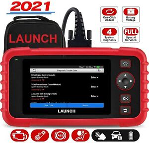 LAUNCH OBD2 Scanner CRP123X Code Reader | Android | Touchscreen | Wi-Fi