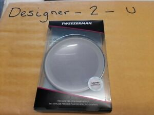 Tweezerman LED Mini Mirror. New & Boxed.