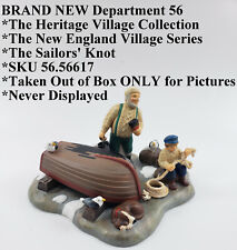 Nib Department 56 *New England Village Series *The Sailors' Knot *Sku 56.56617