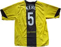maglia calcio trikot vintage Borussia Dortmund nike 2005 2006 Kehl shirt jersey