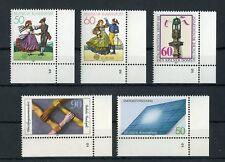 """BUND Nr.1096-1097 u.a. 5 SONDERMARKEN FORMNUMMER """"2"""" !!! (122927)"""