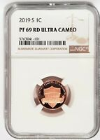 2019 S 1C Penny Lincoln Coin NGC PF69 RD Ultra Cameo - Brown Label -