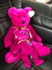 EXTREMELY RARE Millennium TY Beanie and Buddy Bears - RETIRED