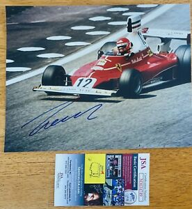 Niki Lauda Signed Autographed 8x10 Photo JSA Certified Formula 1 F1