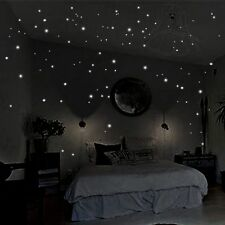 400pcs Glow in the Dark Star Wall Stickers Round Dot Luminous Stickers