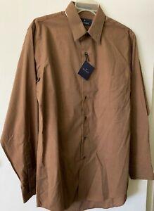 "N.W.T. Men's ""Barrington"" Long Sleeve Button Up Dress/Casual Shirt  SIZE. 15 1/2"