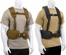Tactical Load Bearing Military Molle Police Battle Belt Harness Vest