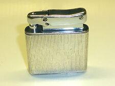 IBELO MONOPOL POCKET WICK LIGHTER W. 925 STERLING SILVER CASE - 1952 - GERMANY