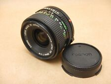 Canon FD 28mm f/2.8 Wide Angle Prime Lens with Caps