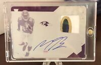 2019 Panini Limited MILES BOYKIN RC Patch Auto Printing Plate 1/1 Rookie RPA 🔥