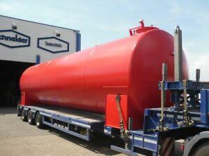 Heizöltank Dieseltank Tankanlage Stahltank Lagerbehälter 40.000 Liter Inhalt