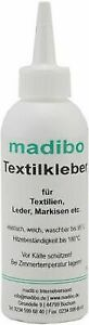 8,63 Euro pro 100g madibo Textilkleber 150 Gramm Stoffe Gewebe Leder Markisen